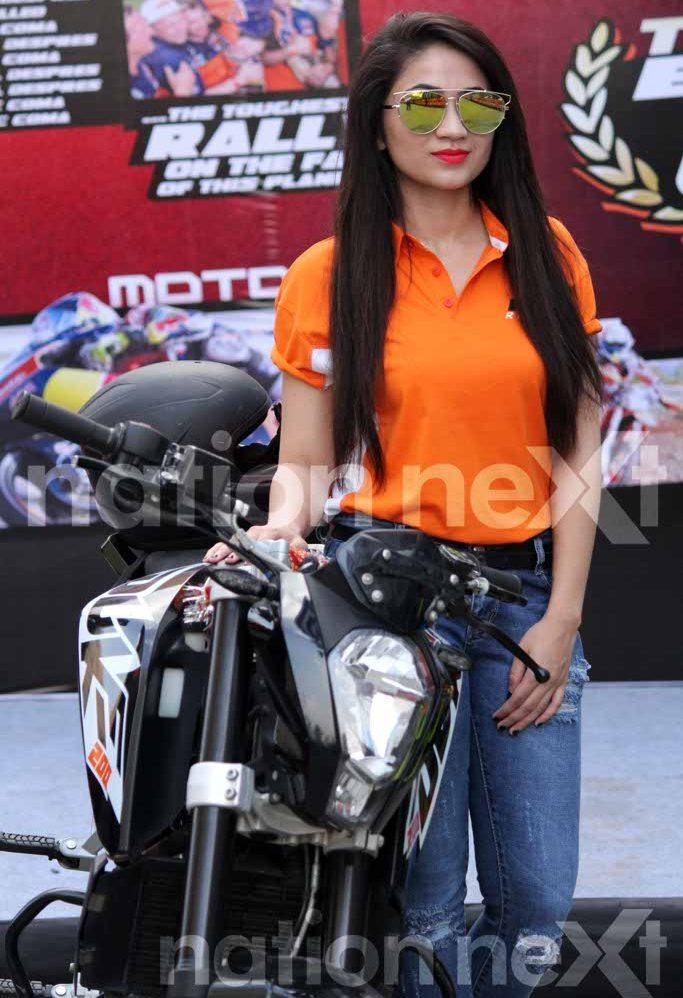 KTM stunt show by MTV Stuntmania Season 2 winner Babar Khan