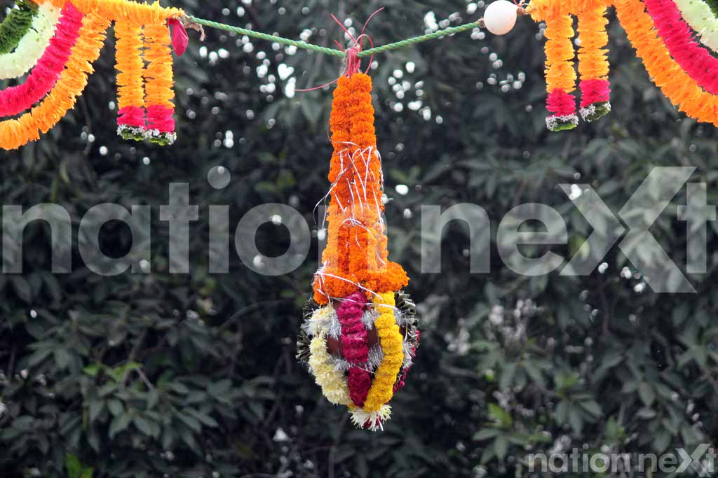 Dahi-Handi celebrations in Nagpur