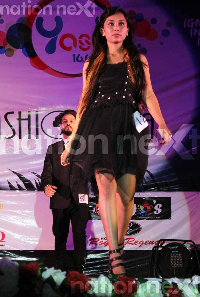 YCCE's Fashionista at the annual fest Yash 16.0