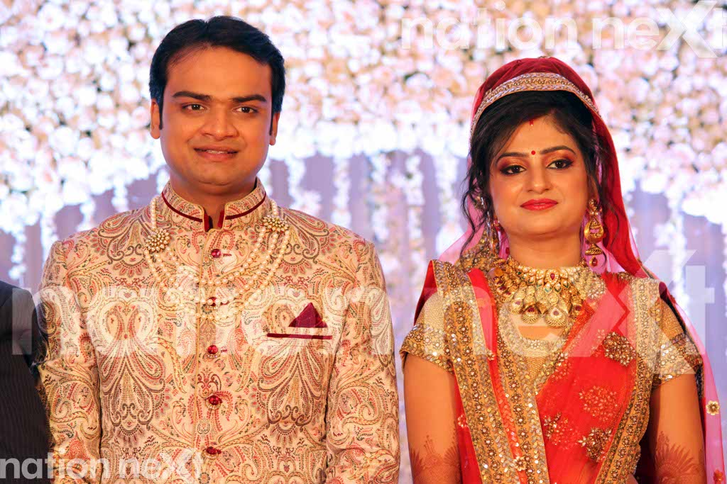 Asseem and Ankita Jain's wedding reception