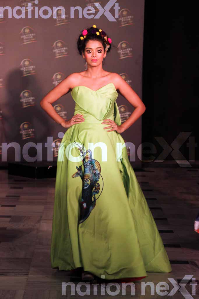 Kalki Koechlin sizzled the ramp at the Blenders Pride Magical Nights at CP Club, Nagpur. Imaad Shah was also a part of this event.