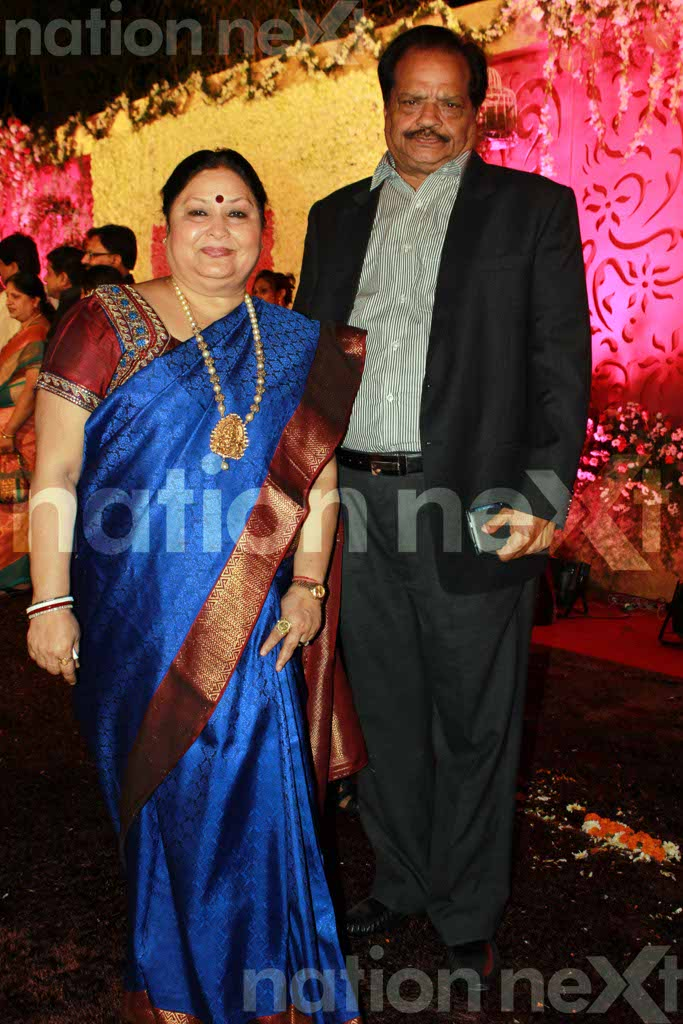 Devika and Kunal Shukul's wedding reception