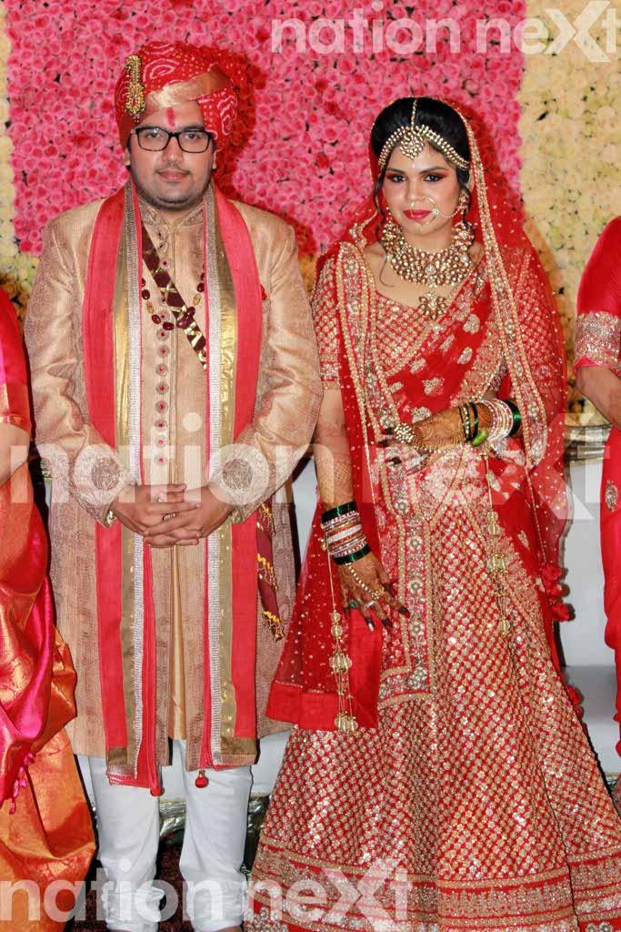 Devika and Kunal Shukul's wedding reception