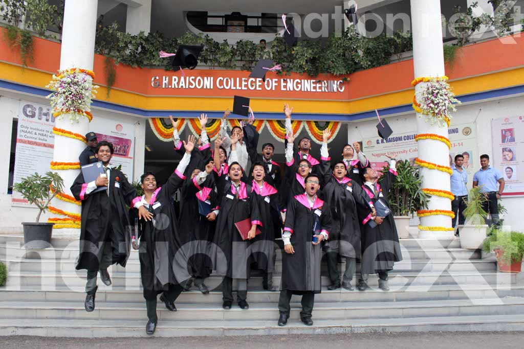 GH Raisoni Engineering College second graduation ceremony