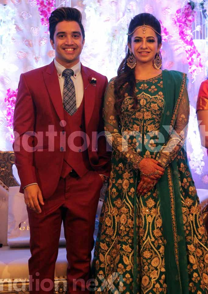 Dr Sameer Arbat and Dr Tulika Parasher Arbat wedding reception