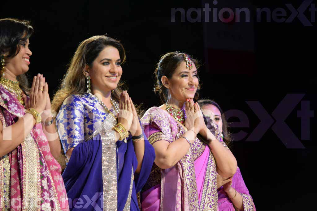Fashion show for cancer patients by Shaina NC and Manish Malhotra