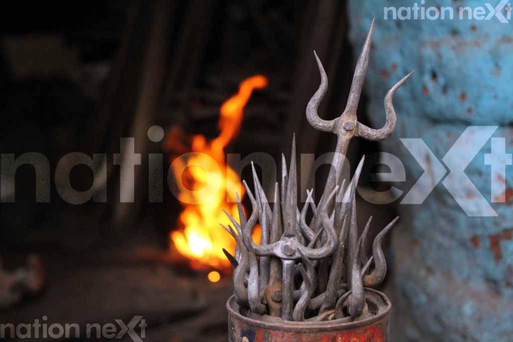 Meet the only trishul maker of Nagpur