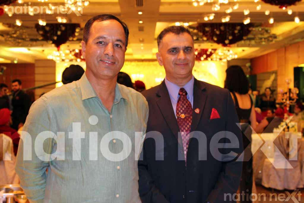 Priyanka Girdhar and Manuj Singh wedding reception