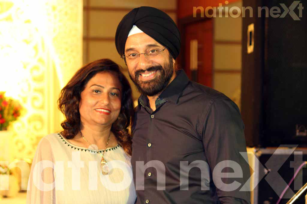 Priyanka Girdhar and Manuj Singh wedding reception