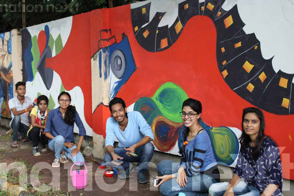 Graffiti Wall at IIID Design Yatra