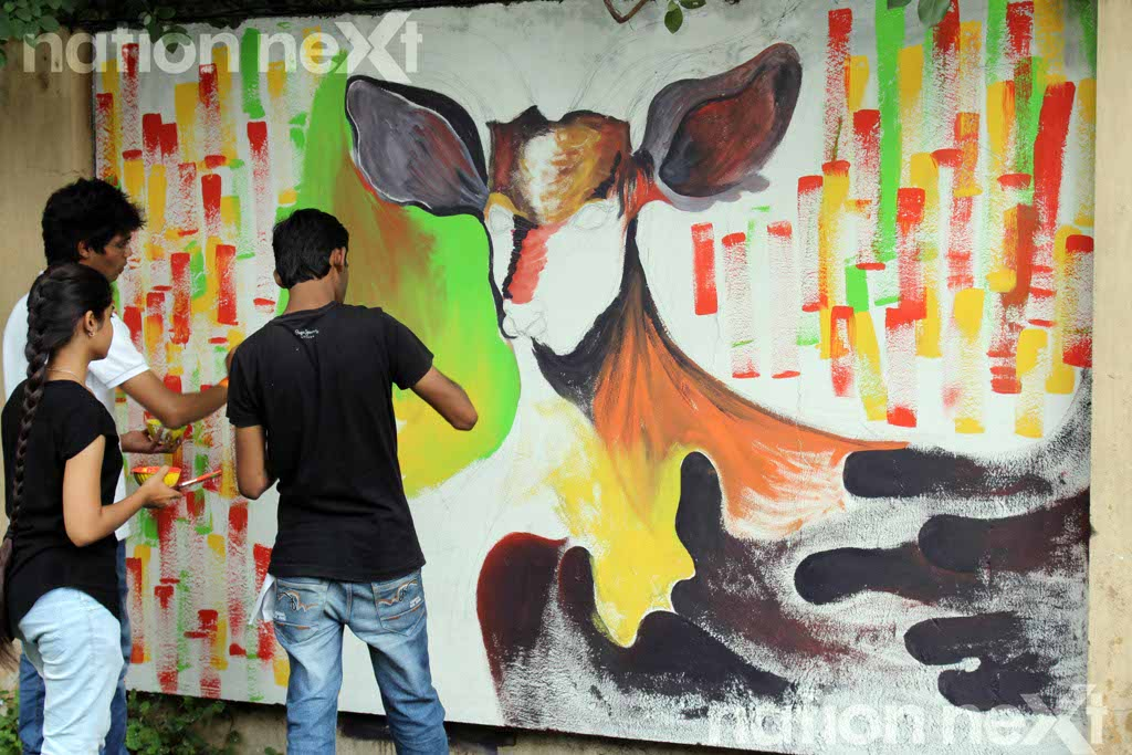 Graffiti Wall at IIID Design Yatra