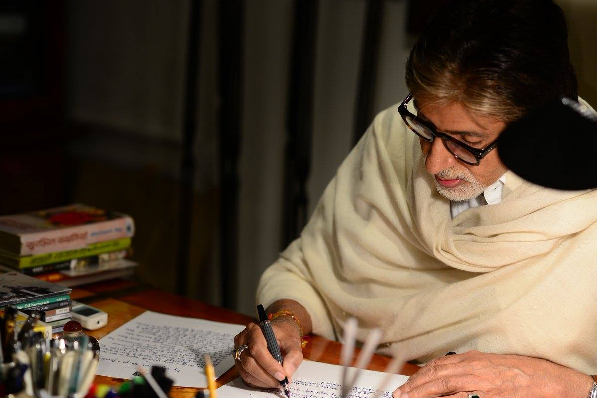 Amitabh Bachchan reads his letter to Navya and Aaradhya