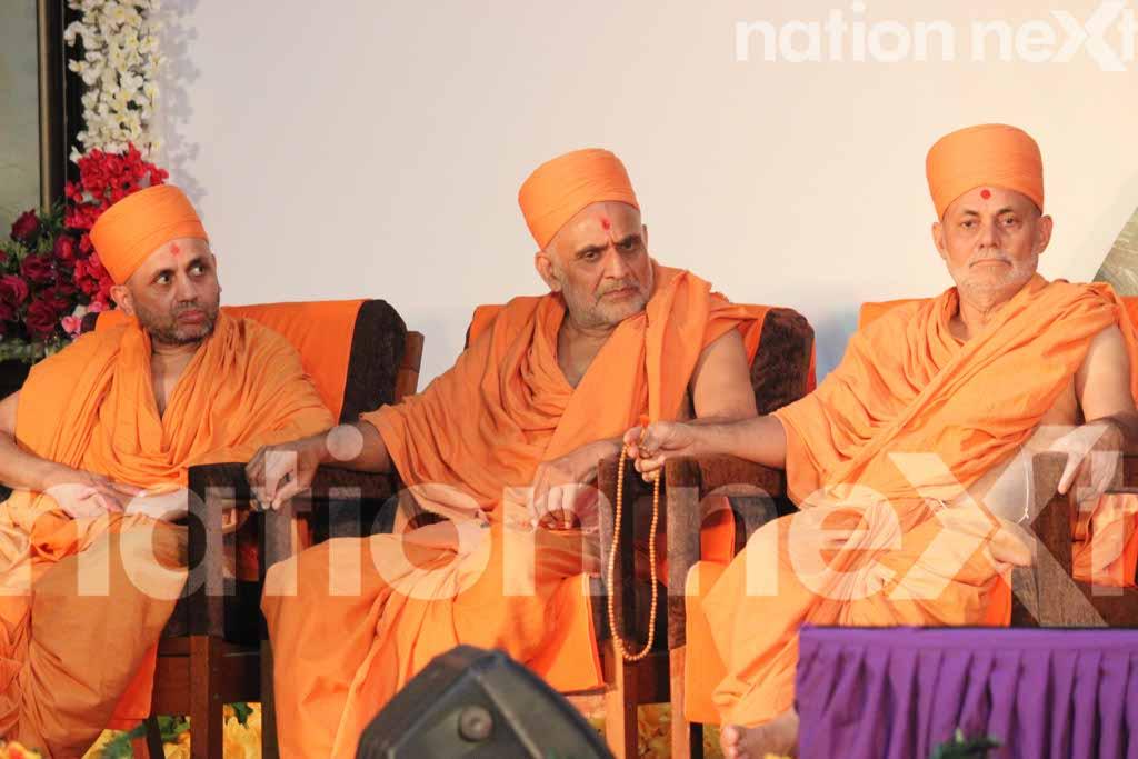 Pramukh Swami Maharaj tribute at RSS headquarters