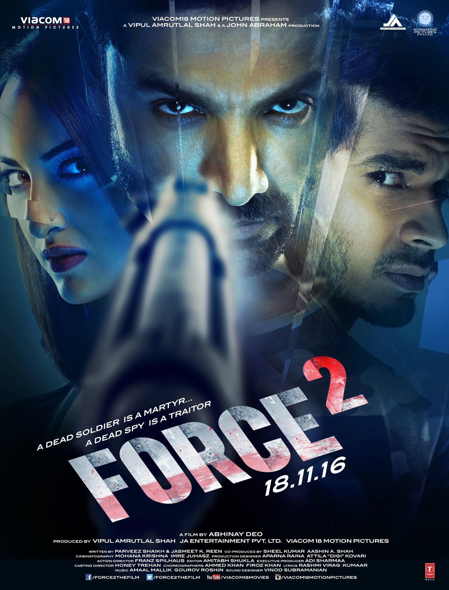 Force 2 trailer: John Abraham and Sonakshi Sinha give a glimpse of the raw action the movie has!