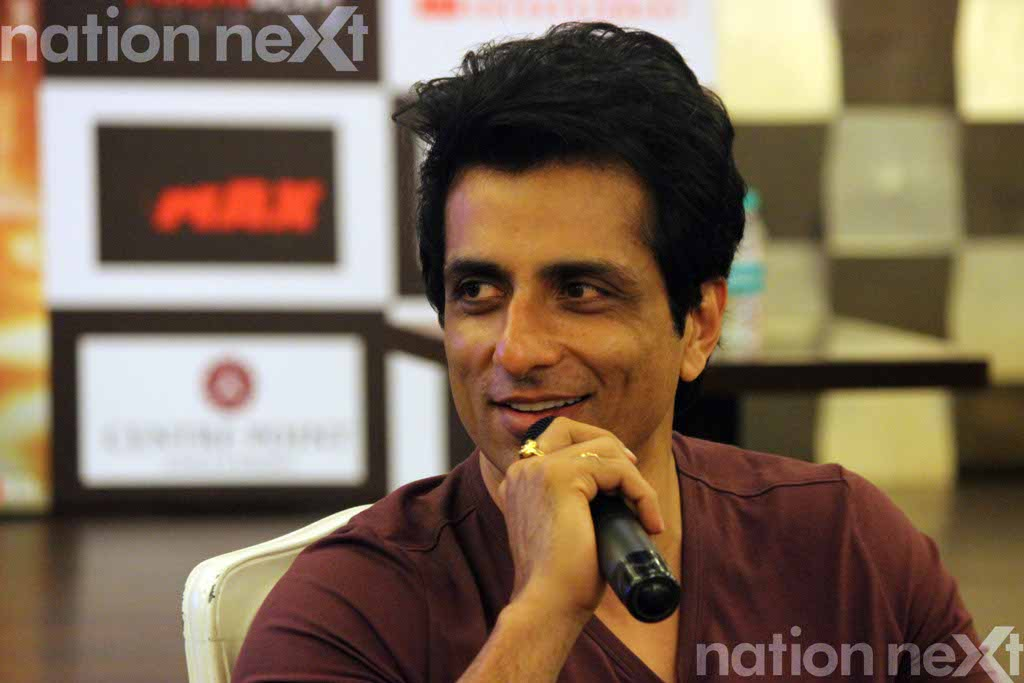 Sonu Sood at the press conference of Tutak Tutak Tutiya