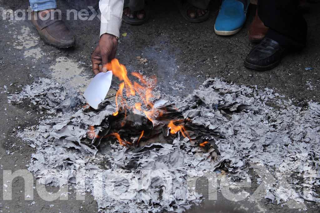Shreehari Aney's political party ViRA makes a fiery debut, burns Nagpur Agreement