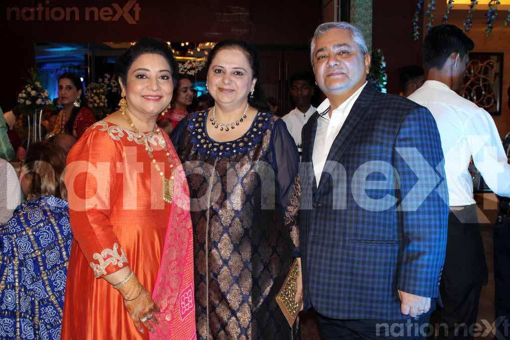 Priyanka Girdhar and Manuj Singh's sangeet ceremony