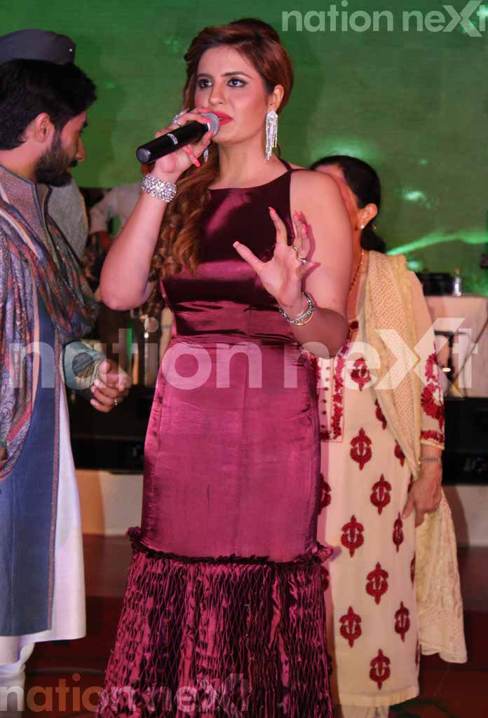 Priyanka Girdhar and Manuj Singh's sangeet ceremony