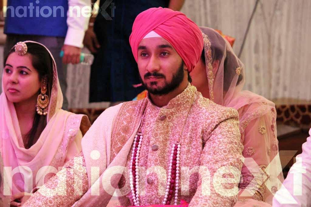Priyanka and Manuj Singh