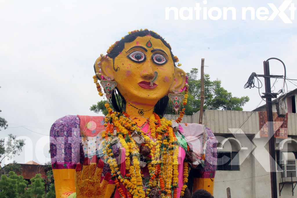 Thousands of people throng the streets to celebrate the 138-year-old Marbat festival, which is celebrated only in Nagpur.