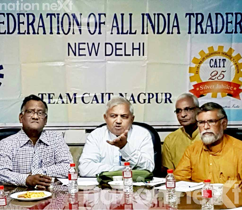 The economic wing of the Sangh Parivar - Swadeshi Jagran Manch (SJM) held a press conference in Nagpur to urge Indians to boycott Chinese goods.