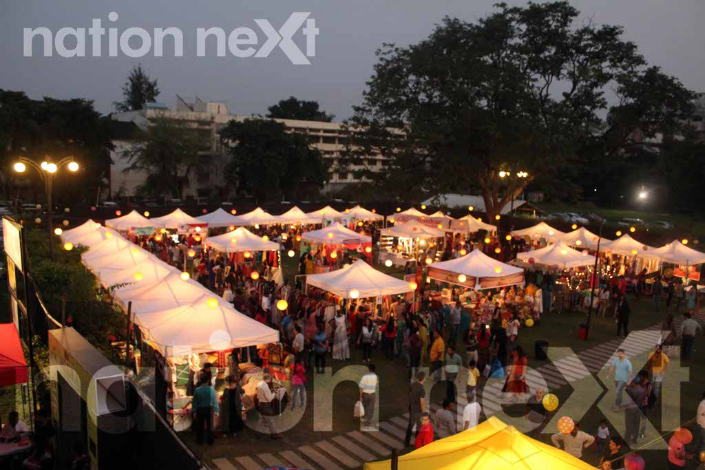 The fourth edition of Agora – The flea market was organised at Chitnavis Centre, Nagpur recently wherein 50 flea stalls and 8 food stalls were set up.