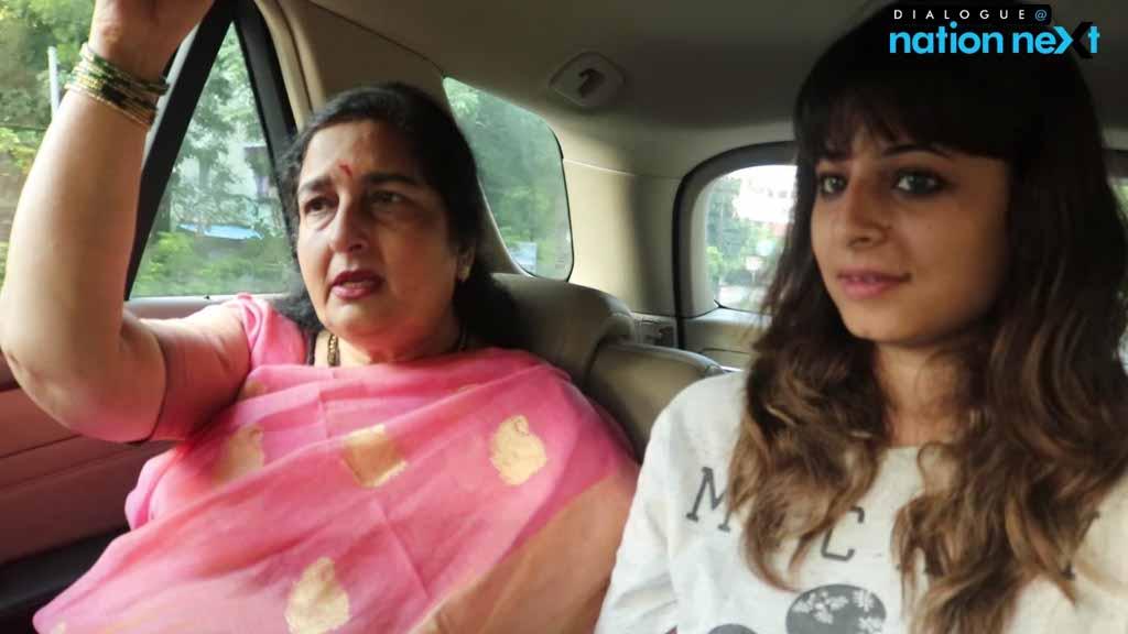 Dialogue @ Nation Next with Anuradha Paudwal
