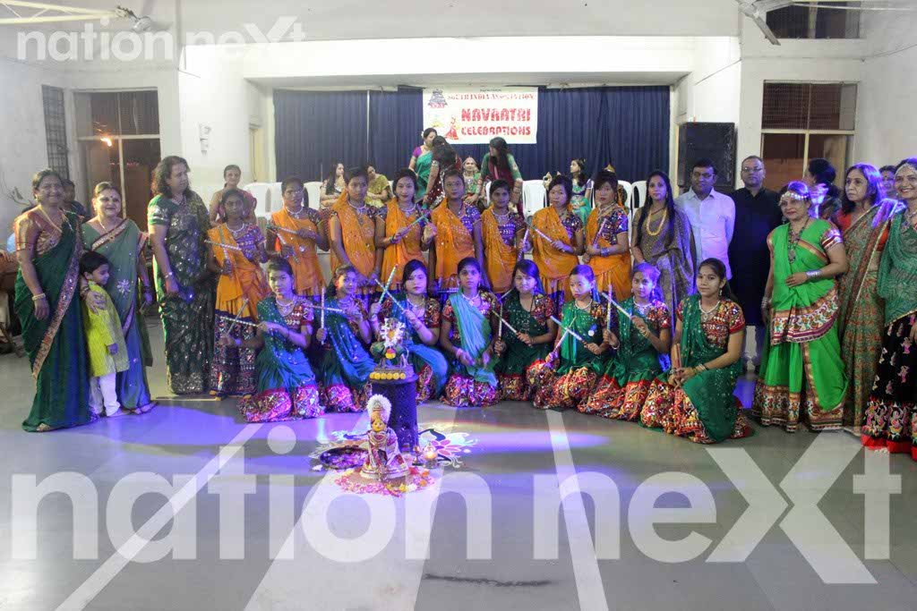 Dance and chit-chat unlimited at Garba Utsav by Nagpur Mahila Club and South Indian Association