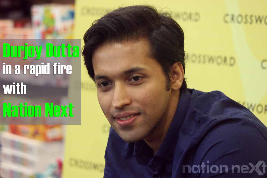 Rapid-fire session with famous novelist Durjoy Datta
