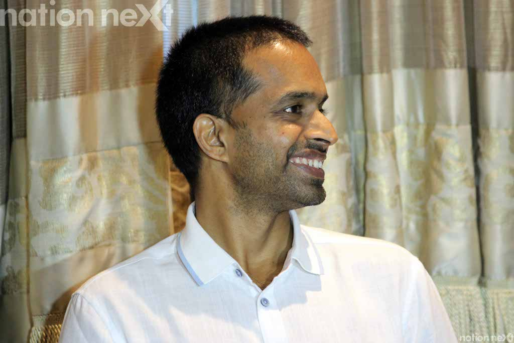 Indian badminton great Pullela Gopichand felicitated sports achievers at the 'GH Raisoni-SJAN Achievers Awards' held at Hotel Tuli Imperial, Nagpur.