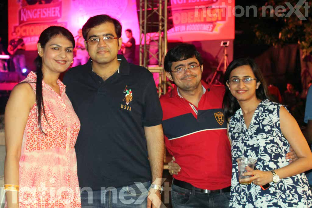 Nagpurians were spotted having a chilled out time at 'Oktoberfest' at CP Club, Nagpur. At this do, club members enjoyed music with close friends.