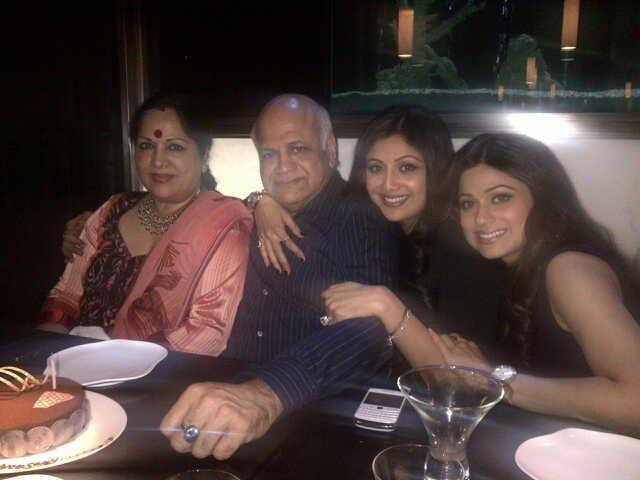 Shilpa Shetty's father