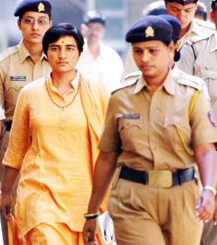 The Bombay High Court today asked Sadhvi Pragya could be kept in prison when the prosecuting agency had said there was no case against her.
