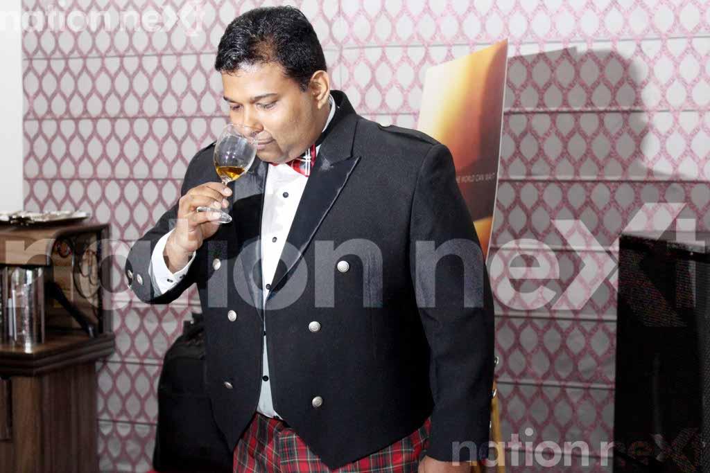 Wonderful world of whiskey: When whiskey connoisseurs experienced the art of blending