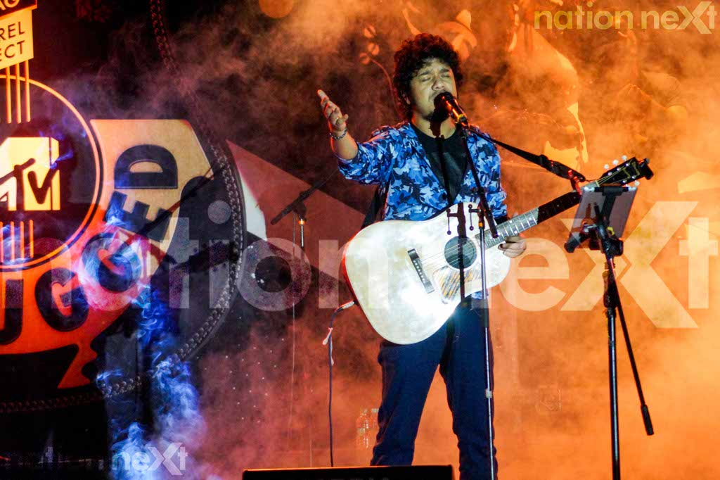 Papon sets the stage on fire as he mesmerises Nagpurians with his performance