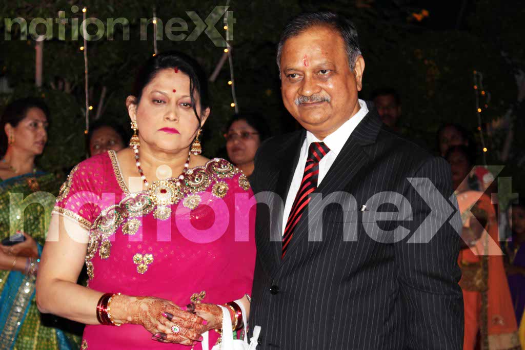 Swarnima Khare and Devranjan Mishra's wedding reception