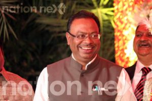 Swarnima and Devranjan Mishra's wedding reception