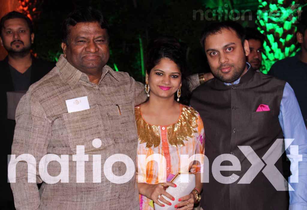 Swarnima and Devranjan Mishra's wedding reception