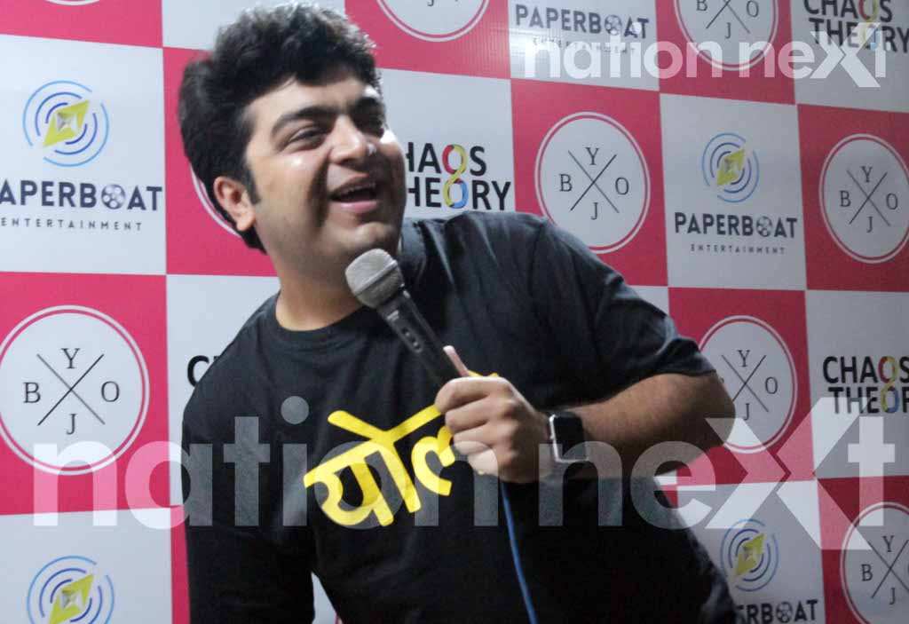 The first ever open mic for standup comedy in Nagpur - Bring Your Own Jokes (BYOJ) - in association with Nation Next concluded on a high note recently.