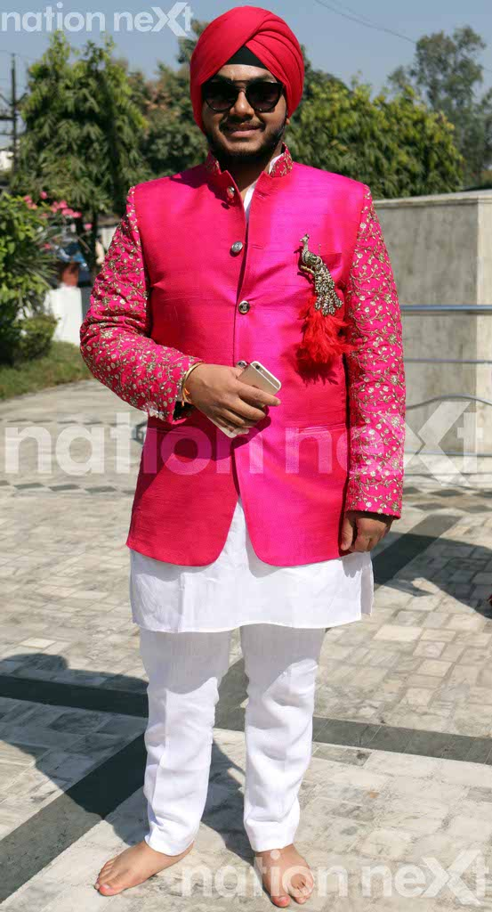 Harkeerat and Taranjeet Singh's wedding
