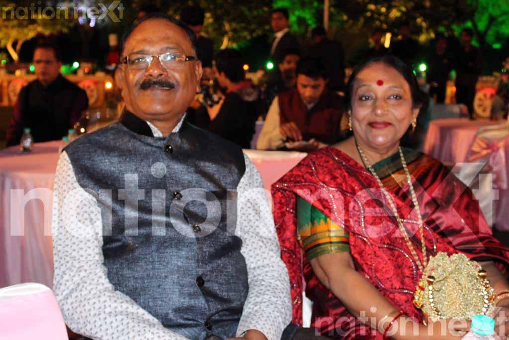 Swarnima Khare and Devranjan Mishra's engagement ceremony