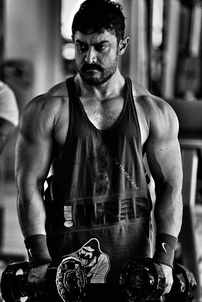 Just after the release of the song 'Dhakkad' day before yesterday, Aamir Khan today has unveiled the second poster of Dangal.