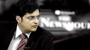 A complaint was filed against Republic TV Founder Arnab Goswami at Nandanvan Police Station in Nagpur by city Congress party spokesperson Atul Londhe.