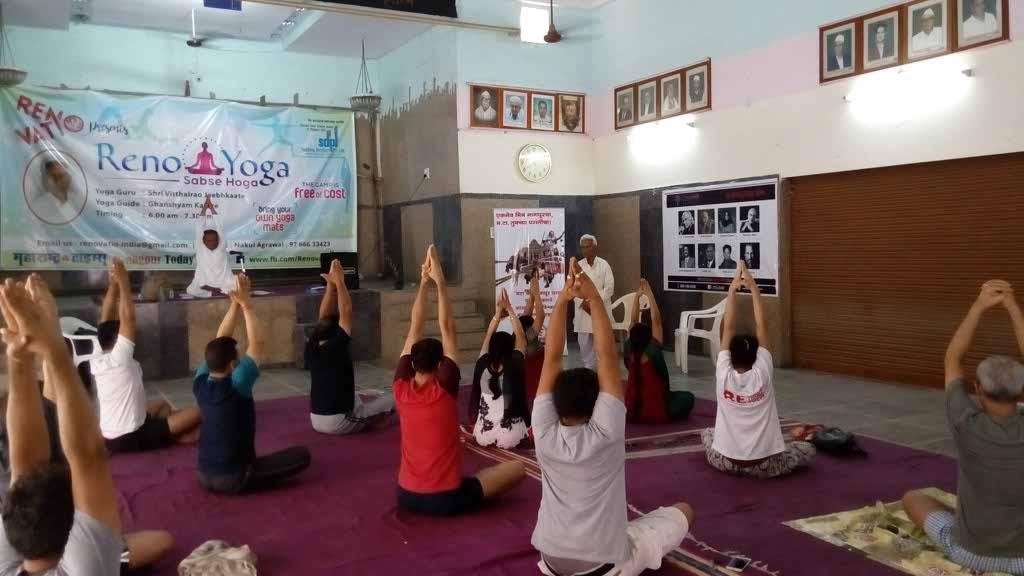Nagpur NGO Renovatio to hold a 10-day free yoga camp