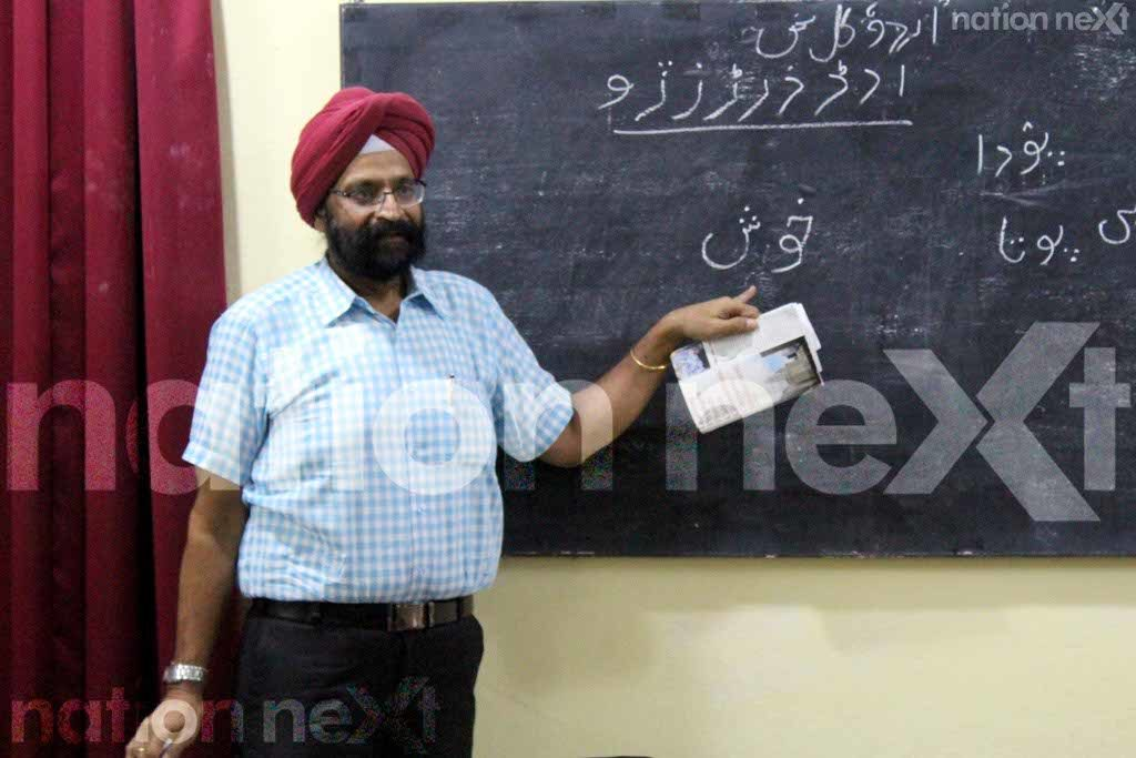 Nagpur's well-known chartered accountant T S Rawal has come up with a unique way to promote and keep the Urdu language alive!