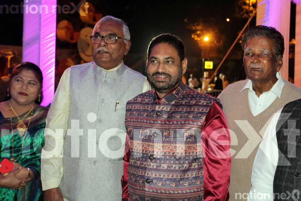 Manikrao Thakare's son Atul's wedding
