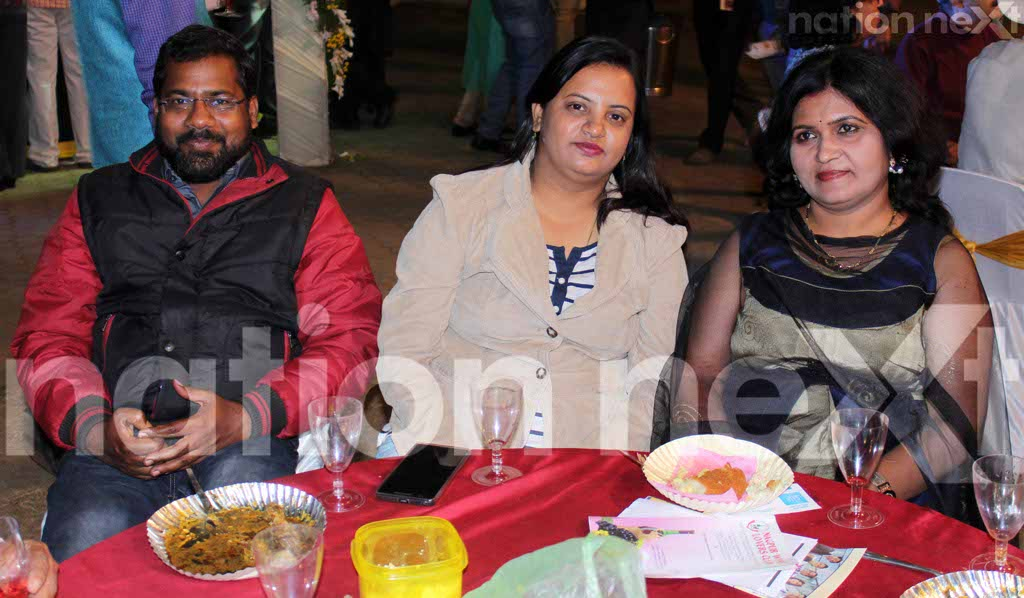 Nagpur Food and Wine Festival held on December 3, 2016, at CP Club saw wine connoisseurs enjoying the wine, food and the company of friends to the fullest.