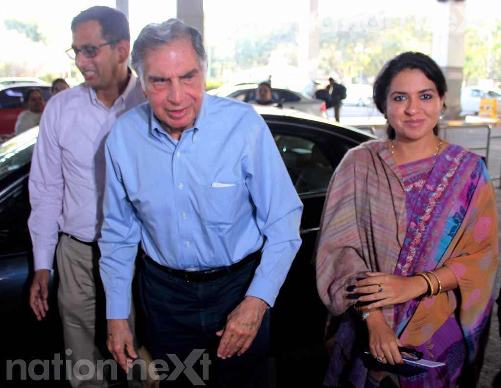 Ratan Tata meets RSS chief Mohan Bhagwat