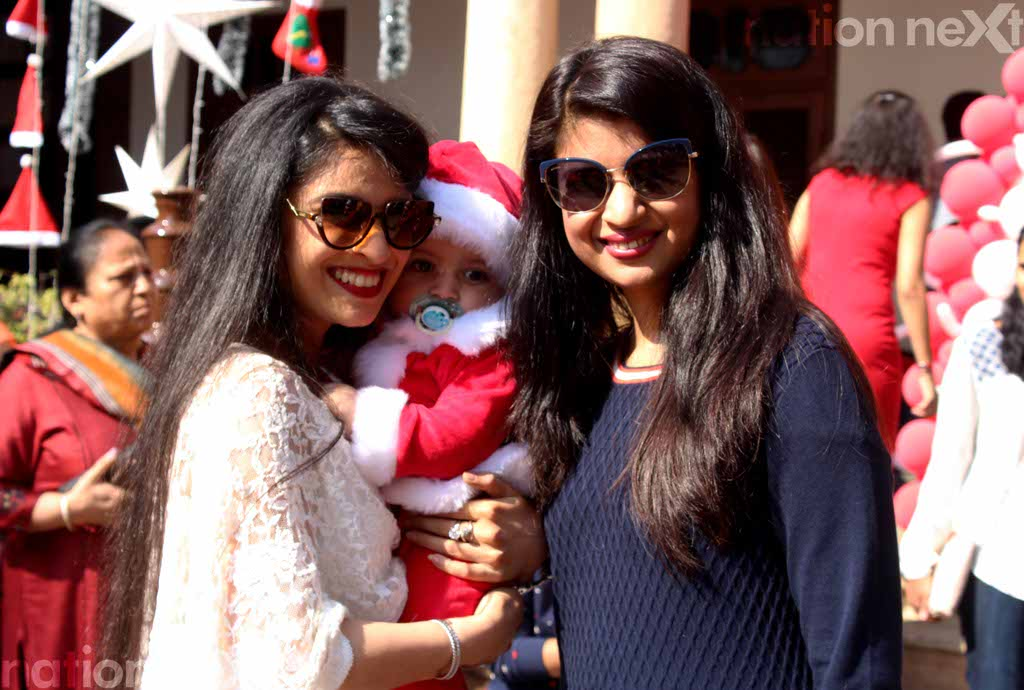 Nagpurians let their hair down during Christmas party at Gondwana Club