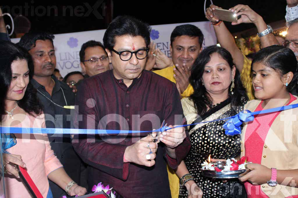 Raj Thackeray inaugurates Linen Vogue